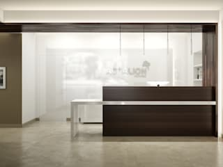 Minimalist office buildings by réHome Minimalist