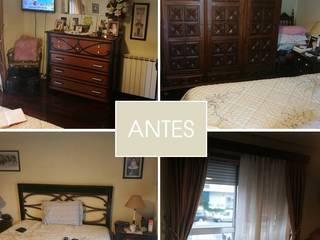 Um quarto de casal - antes :   por Conceicao Lopes