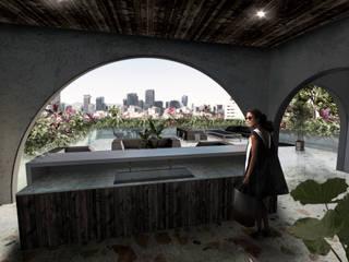Roof garden: Terrazas de estilo  por RA!