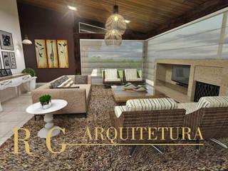 Salas de estar  por DRG ARQUITETURA