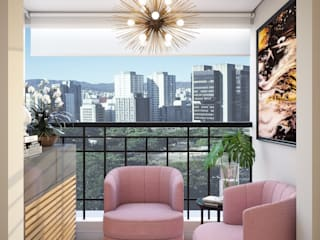 Estar : Espaços comerciais  por Camila Pimenta | Arquitetura + Interiores