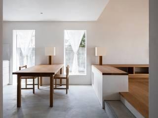 House in Kamo|加茂の家: 山田誠一建築設計事務所が手掛けたダイニングです。