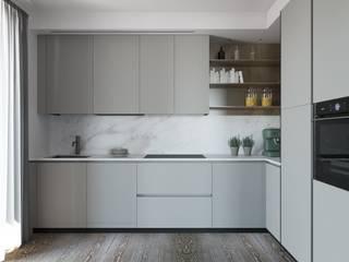 Interior design trilocale: Cucina in stile  di ALMA Architettura | Mario Pan | Alessandro Pezzotti