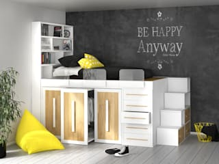 cinius s.r.l. Nursery/kid's roomBeds & cribs