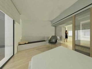 Studioapart Interior & Product design Barcelona Minimalist bedroom