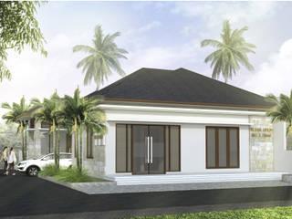 Rumah Teluk Naga:modern  oleh nakula arsitek studio, Modern