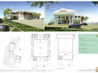 Graha Ronatama:  Rumah tinggal  by nakula arsitek studio