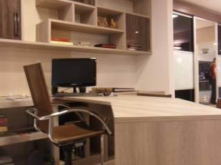 Loja de móveis planejados.: Espaços comerciais  por Márcia Albino Arquiteta