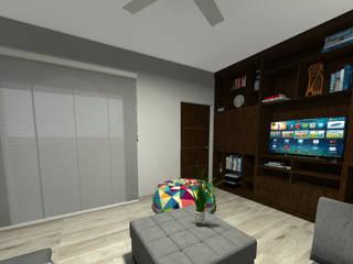 LA DIFERENCIA : Estudios y oficinas de estilo clásico por PV INTERIOR DESIGN