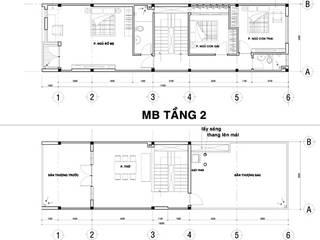 Dự án nhà 3 tầng anh Huy - Nha Trang:   by Nha Dep Pro