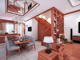 Xây dựng và thiết kế nội thất biệt thự cao cấp chú Phong dự án Lakeview Quận 9:   by Công ty TNHH sửa chữa nhà phố trọn gói An Phú 0911.120.739