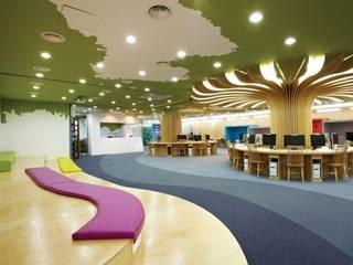 Oficinas de estilo mediterráneo de 담음건축디자인주식회사 Mediterráneo