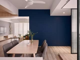 將卡通人物融合家的一份子:  餐廳 by 層層室內裝修設計有限公司