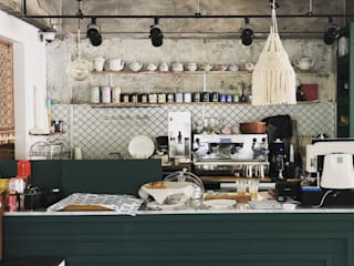 Kitchen units by (주)스튜디오360플랜
