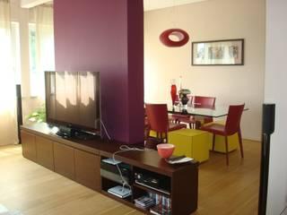 Salones minimalistas de A-LAB Arch. Marina Grasso Minimalista