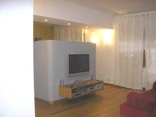 A-LAB Arch. Marina Grasso Phòng khách phong cách chiết trung