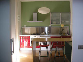 Eclectic style kitchen by A-LAB Arch. Marina Grasso Eclectic