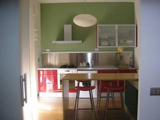 A-LAB Arch. Marina Grasso Nhà bếp phong cách chiết trung