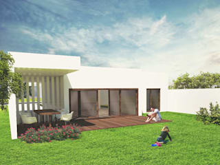 aponto Single family home White