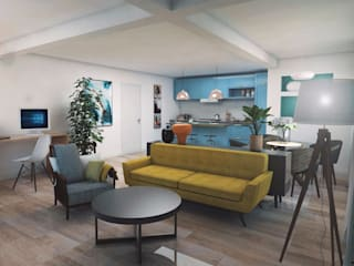 aponto Living room Multicolored