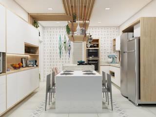 Kitchen by Confi Arquitetos