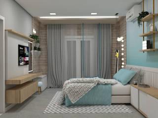 Bedroom by Confi Arquitetos