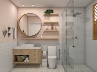 Bathroom by Confi Arquitetos
