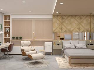 Phòng ngủ by Confi Arquitetos