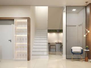 ห้องทานข้าว โดย Rau Duarte Arquitetura,