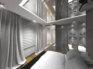 Quartos modernos por ARCHLAYOUT Arquitetura e Interiores Moderno