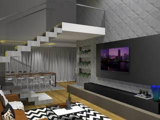 Salas de estar modernas por ARCHLAYOUT Arquitetura e Interiores Moderno