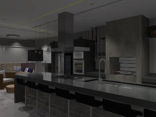 Cozinhas modernas por ARCHLAYOUT Arquitetura e Interiores Moderno