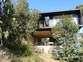 m2 estudio arquitectos - Santiago Mediterrane Häuser Beton