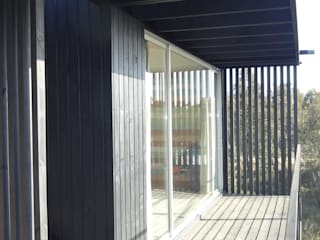 Balcon, Veranda & Terrasse méditerranéens par m2 estudio arquitectos - Santiago Méditerranéen
