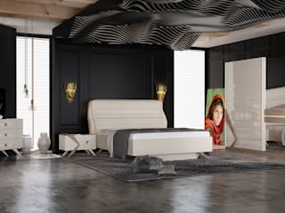 Inan AYDOGAN /IA  Interior Design Office – Bedroom Proucts 2:  tarz
