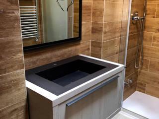Ristrutturazione bagno albergo Cortina (BL) di 2mgdesignsolution Moderno