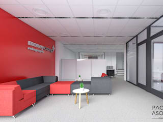 Pacheco & Asociados Study/office Red