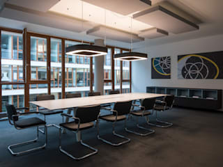 Modern office buildings by mori Modern