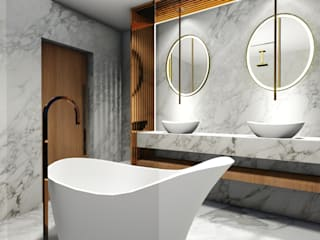 Minimal style Bathroom by Studio² Minimalist