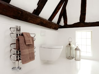 Seamless Wet Room in a Barn Conversion:  Bathroom by Solidity Ltd