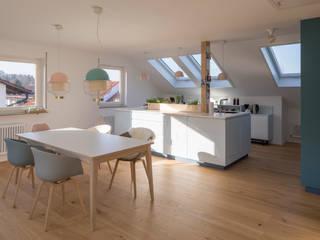 Modern kitchen by mori Modern