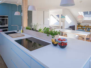 Dapur Modern Oleh mori Modern