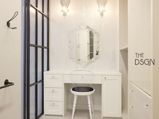 Dressing room by 더디자인 the dsgn, Eclectic