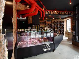 A MESA: styl , w kategorii  zaprojektowany przez Czajkowski Kuźniak Architekci