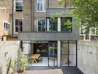 Lauriston Road Casas modernas: Ideas, imágenes y decoración de Gundry & Ducker Architecture Moderno