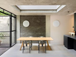 dining area and rooflight :  Dining room by Gundry & Ducker Architecture