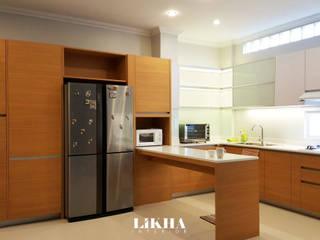 Likha Interior Cuisine intégrée Contreplaqué Effet bois