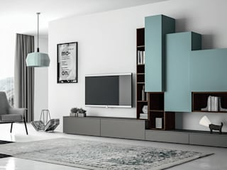 Living room Soggiorno moderno di ROOM 66 KITCHEN&MORE Moderno