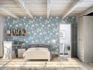 Camerette da sogno ROOM 66 KITCHEN&MORE Camera da letto eclettica