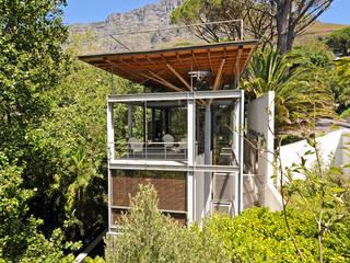 Timber & Steel Structure:  Single family home by Van der Merwe Miszewski Architects